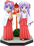 New Year's visit to a Shinto shrine set Tsukasa & Kagami holly Lucky Star (non-scale PVC Figure) (japan import)