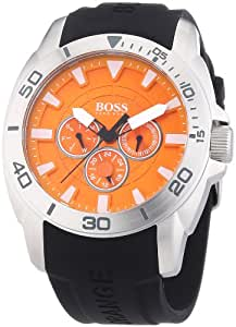 Boss Orange Herren-Armbanduhr XL Big Day Multieye Analog Quarz Silikon 1512951