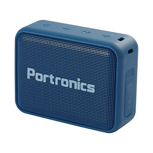 Portronics Dynamo Bluetooth 5.0 Portable Stereo Speaker with TWS, USB Music & FM Music and Clear Bass Sound, 5W, Blue