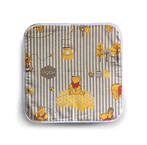 Tovagliolo (31x31 cm) Fantasia Disney per asilo e scuola materna- 100% cotone- Made in Italy - Set Asilo Da Ricamare per la pappa e la merenda