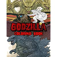 Godzilla Coloring Book: Ideal For Kids And Adults To Inspire Creativity And Relaxation With 50+ Coloring Pages Of Gozilla The King of Monster