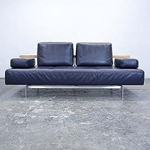 Amazon.de: Rolf Benz Dono Designer Sofa Leder Aubergine ...