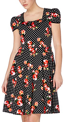 Voodoo Vixen Kleid JEMIMA DRESS 8077 Schwarz XL