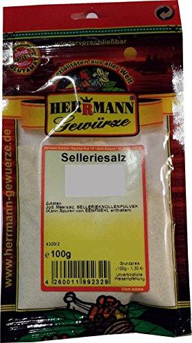 Selleriesalz Spar-Set 3x100g Zutaten: Meersalz, Sellerieknollenpulver. Ohne Zusatzstoffe, ohne...