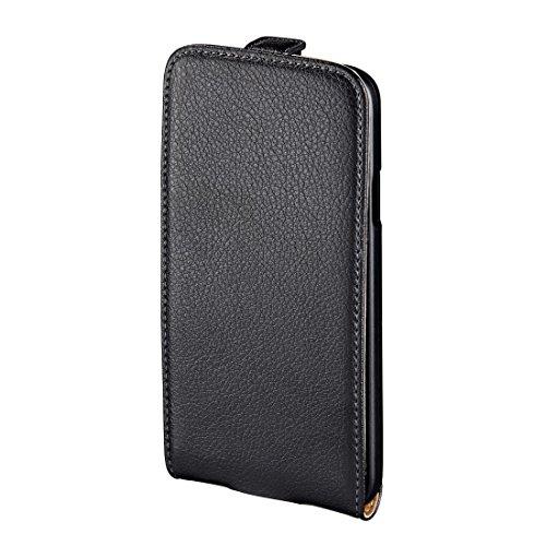 Hama Flip Case (für Samsung Galaxy S4 mini Tasche, maßgefertigte Schutzhülle mit Magnetverschluss) schwarz
