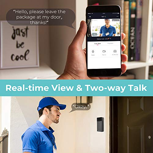 Zoom IMG-2 video campanello houzetek videocitofono senza