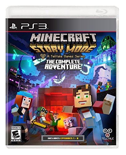 Telltale Games - Minecraft Story Mode: The Complete Adventure /PS3 (1 Games) (Ps3 Minecraft Spiel)