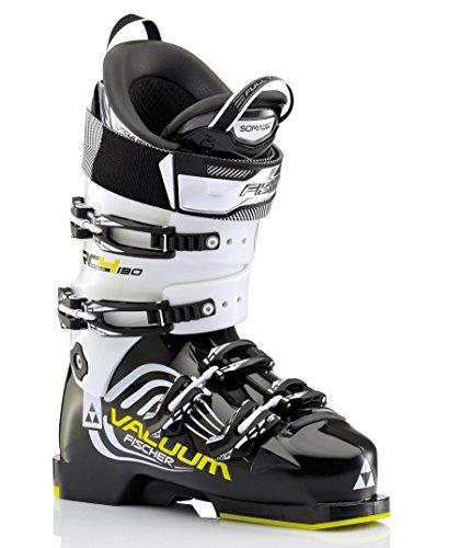 Fischer Herren Skischuhe Soma Vacuum 130 schwarz/weiss (910) 25,5 (Racing Herren-ski-stiefel)