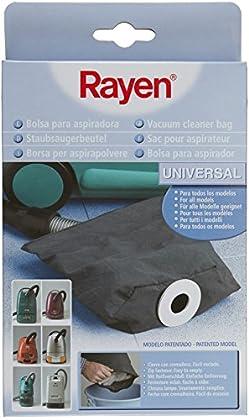 Rayen 6328.50 - Bolsa de aspiradora de tamaño universal, color gris