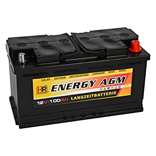HR Energy AGM 12V 100Ah