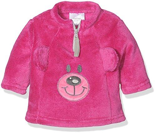 Lila Mädchen Pullover (Twins Baby-Mädchen Fleece Pullover Teddybär, Violett (Lila 4004), 92)