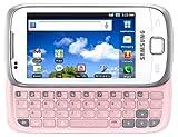 Samsung Galaxy 551 I5510 Smartphone (8,1 cm (3,2 Zoll) Touchscreen und QWERTZ-Tastatur, 3 Megapixel Kamera) chic-white
