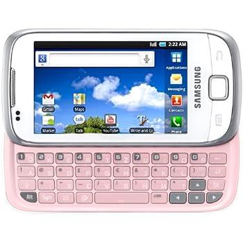 Samsung Galaxy 551 I5510 Smartphone 3,2 Zoll chic-white
