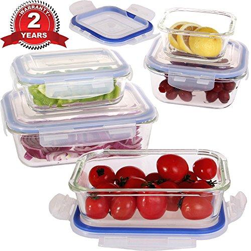 vhari-lot-de-5-boites-de-rangement-alimentaire-en-verre-borosilicate-5-couvercles-plastiques-sans-bp