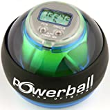 Powerball Basic Counter - Pelota de Entrenamiento, Color Azul Transparente