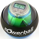 Powerball Basic Counter - Pelota de entrenamiento, color azul transparente