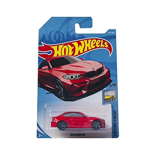 Hot Wheels 2016 BMW M2 Rojo Factory Fresh 3/10 (254/365)