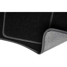 PREMIUM Alfombrillas de velour - 2 piezas - negro - 5902311246403