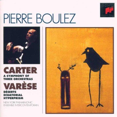 Carters Eisbär (Boulez-Edition: Carter / Varese)