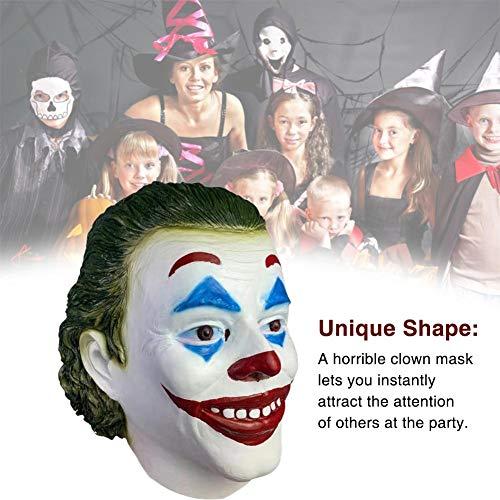 Wapern Erwachsene Horror Clown Joker Maske Halloween Cosplay Kostüm Requisiten, Halloween Scary Evil Clown Maske, 2019 Halloween Horror Clown Maske Für Frauen Männer Well - Home Made Clown Kostüm