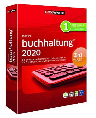 Lexware buchhaltung 2020|basis-Version Minibox (Jahreslizenz)|Einfache Buchhaltungs-Software für Freiberufler, Handwerker, Kleinunternehmen und Vereine