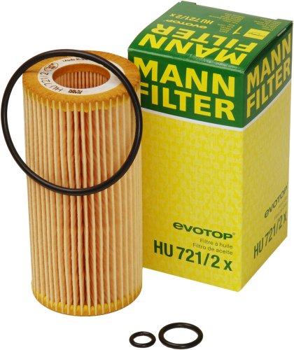 Original MANN-FILTER HU 721/2 x - Ölfilter mit Dichtung/ Dichtungssatz - für PKW