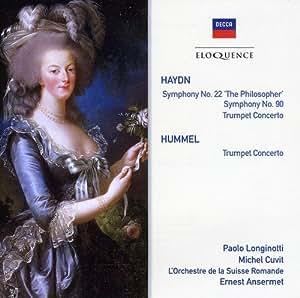 Haydn : Symphonies n° 22 & 90 / Concerto pour trompette [Import allemand]