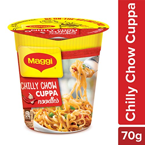 Nestle Maggi Cuppa Noodles, Chilli Chow - 70g Cup