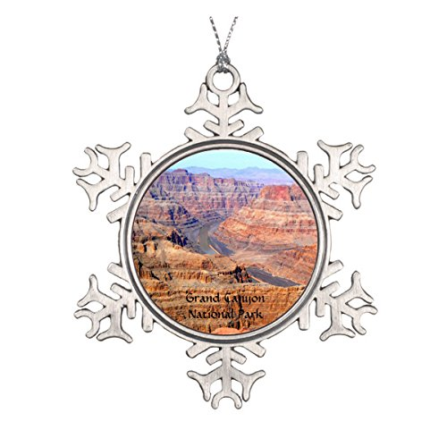 Daily Lady Grand Canyon National Park West Rand Runde Keramik Weihnachten Ornament