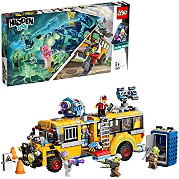 LEGO Hidden Side 70423 Paranormal Intercept Bus 3000 Construction Set, AR  Lego Games with Lego app, Toys for 8 Years Old Boys and Girls, Interactive