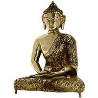 arrediBuddhismmetalloartedibuddhastatuabuddistainmeditazione20,32cm