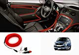 #4: Speedwav Car Interior Ambient Wire Decorative LED Light Red-Maruti WagonR Type 3 (2008-2012)