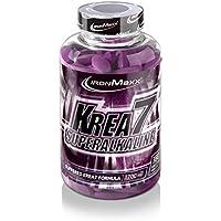 IronMaxx Krea7 Superalkaline – Kreatin-Tabletten von IronMaxx für höhere körperliche Leistung – 1 x 180 Tabletten