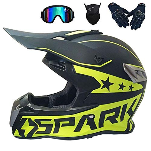 Ocean Pacific Motocross Helmet Black
