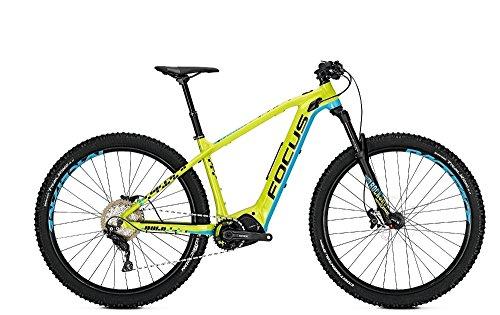 Focus Bold² 29 E-Bike 10,5Ah E-Mountainbike Magicblack grün/Blau