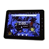 Intenso Intab 20,3 cm (8 Zoll) Tablet-PC (Kapazitiv-Multitouch Display, 1GHz, 8GB Flash-Speicher, WiFi, 360° Lagesensor, E-Book Reader, USB 2.0, Android 2.3) anthrazit