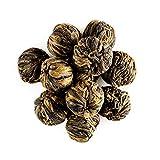 Yunnan Schwarztee Drachenperlen Teekugeln - kräftig und malzig - Teekugeln direkt aus Yunnan - Spezialgüte Perle Gold 50g