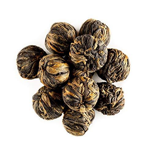 Yunnan Schwarztee Drachenperlen Teekugeln – kräftig und malzig – Teekugeln direkt aus Yunnan – Spezialgüte Perle Gold 100g