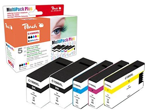 Peach Toner Compatibile Multi-pack XL cyan, gelb, magenta, schwarz, schwarz