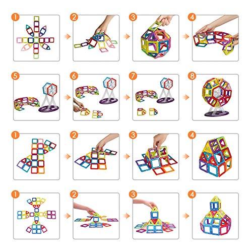 Zoom IMG-2 intey costruzioni magnetiche bambini set