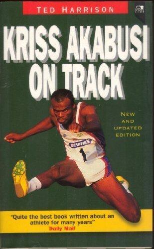 Kriss Akabusi on Track por Ted Harrison