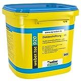 weber.tec 920 2 K Bitumen Dickbeschichtung, 30 Liter
