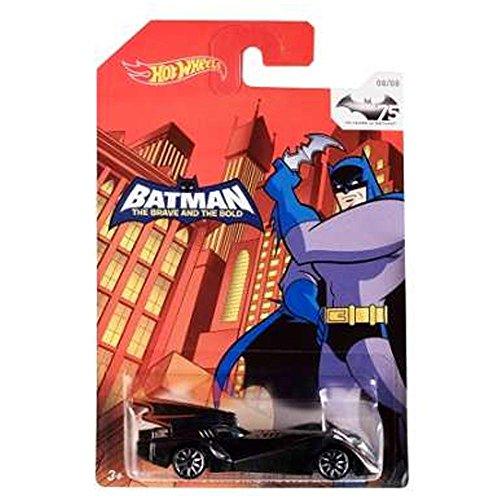 Hot Wheels Batman 75th Anniversary: Batman The Brave & The Bold Batmobile by Mattel