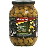Gourmet Aceitunas Perdigón con Hueso, Sabor Anchoa - 500 g