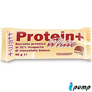+watt white protein bar 40g tiramisu
