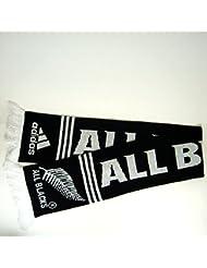 """Adidas Performance - Bufanda de Rugby de Nueva Zelanda, """"All Blacks"""", ref. U39096"""