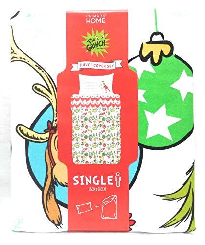 Primark Home Dr Seuss Grinch Navidad Funda Nórdica