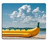Jun XT Natürliche Gummi Gaming Mousepads aufblasbar Wasser Schlitten auf der Shore of a Bay Bild-ID 27697203
