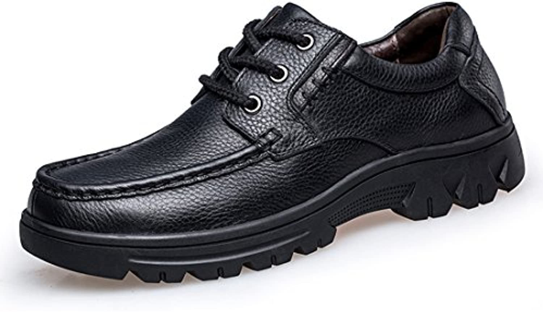 mode hommes noirs à minitoo à noirs chaussures de marche pour le père royaume - uni 9.5 8c5514