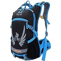 SHTH–da ciclismo Uomo Zaini Outdoor impermeabile zaino trekking escursionismo arrampicata Backpack, 44x 35x 13cm, 15L, blu, 44x35x13cm